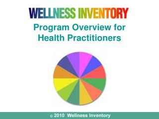 Program Overview for  Health Practitioners