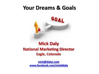 Your Dreams & Goals