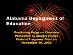 Alabama Department of Education