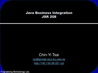 Java Business Integration JSR 208
