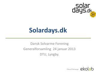 Solardays.dk