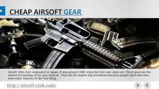 Cheap Airsoft Gear Online