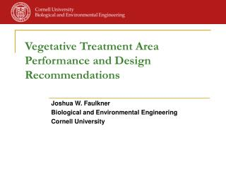 Vegetative Treatment Area Performance and Design Recommendations