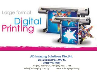 Printing Services, Offset Printing