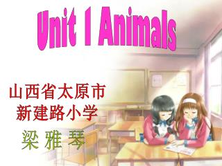 Unit 1 Animals