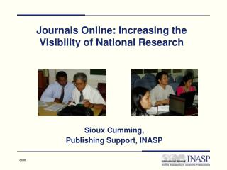 Journals Online: Increasing the Visibility of National Research