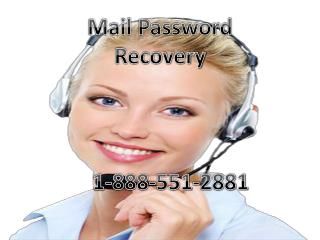 @@@ 1-888-551-2881 Email Password Recovery Number