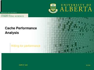 Cache Performance Analysis