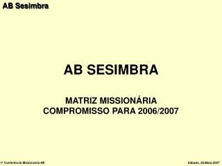 AB SESIMBRA