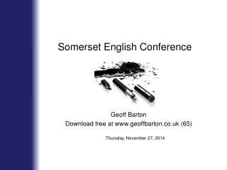 Somerset English Conference