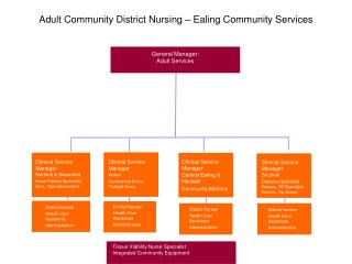 Adult Community District Nursing – Ealing Community Services