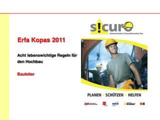 Erfa Kopas 2011