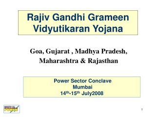 Rajiv Gandhi Grameen Vidyutikaran Yojana