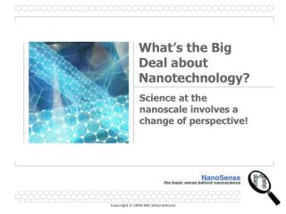What's the Big Deal about Nanotechnology?