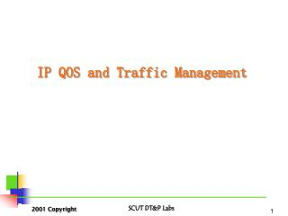 IP QOS and Traffic Management