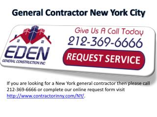 General Contractor NYC - www.contractorinny.com