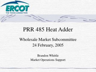 PRR 485 Heat Adder