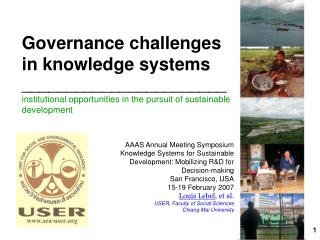 Governance  in knowledge systems