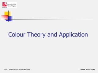 Colour Theory and Application