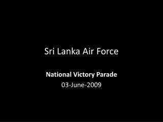 Sri Lanka Air Force