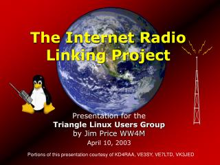 The Internet Radio Linking Project