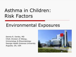 Asthma in Children: Risk Factors