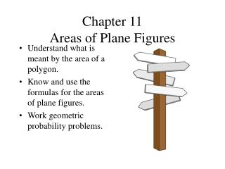 Chapter 11 Areas of Plane Figures