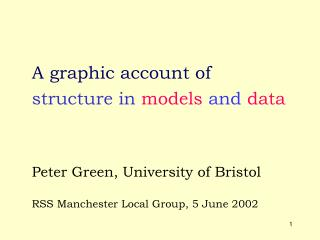 structure in  models  and  data