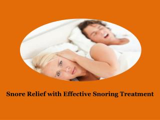 Anti Snoring Sprays