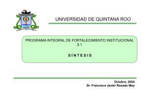 UNIVERSIDAD DE QUINTANA ROO