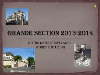 GRANDE SECTION 2013-2014