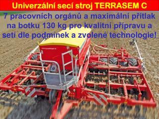 Univerzální secí stroj TERRASEM C