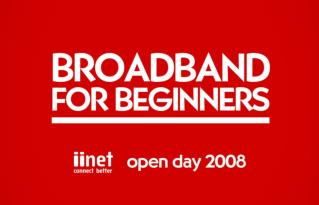 Broadband for Beginners Module 1