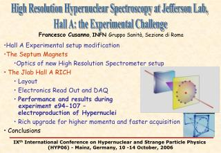 High Resolution Hypernuclear Spectroscopy at Jefferson Lab, Hall A: the Experimental Challenge