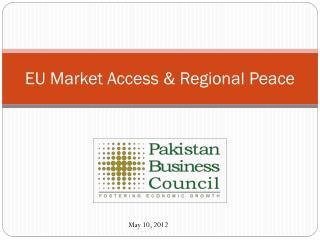 EU Market Access & Regional Peace