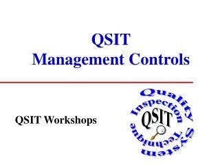QSIT Management Controls