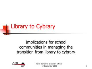 Library to Cybrary