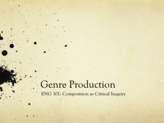Genre Production