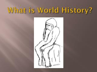 What is World History?