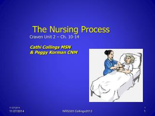 The Nursing Process Craven Unit 2 – Ch. 10-14 Cathi Collings MSN  & Peggy Korman CNM