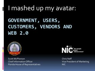 Government, Users, Customers, vendors and  Web 2.0
