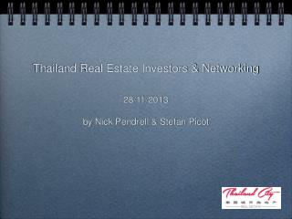 Thailand Real Estate Investors & Networking