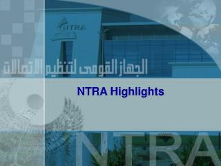 NTRA Highlights
