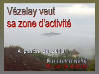 Vézelay Patrimoine mondial