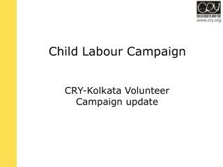 Child Labour Campaign