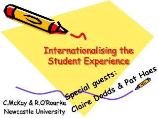 Internationalising the Student Experience