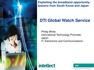 DTI Global Watch Service