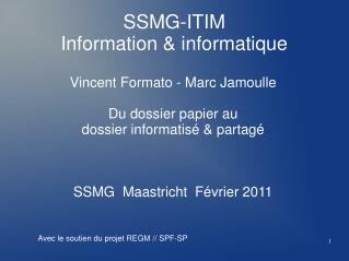 SSMG-ITIM Information & informatique
