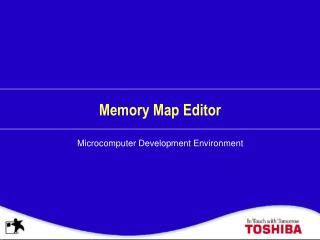 Memory Map Editor