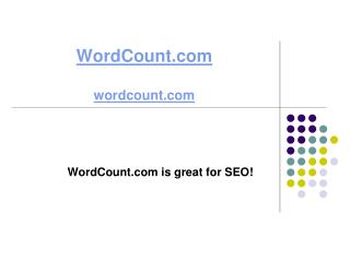 WordCount.com is great for SEO!